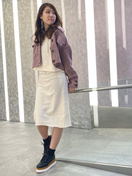 CECIL McBEEのロゴ入りパーカーセットアップを使ったコーディネートを紹介します。|Rakuten Fashion(楽天ファッション/旧楽天ブランドアベニュー)1007142