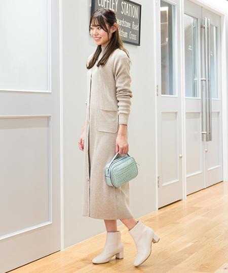 NATURAL BEAUTY BASICの[洗える]ワイドリブロングカーデを使ったコーディネートを紹介します。|Rakuten Fashion(楽天ファッション/旧楽天ブランドアベニュー)1009156