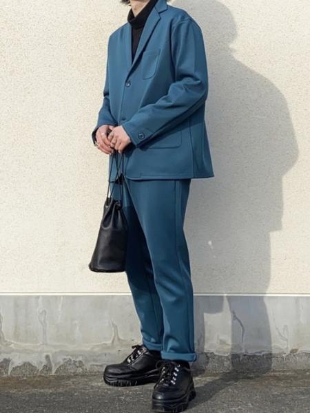 DEVICEのRename/(U)Rename 本革 巾着バッグ サコッシュを使ったコーディネートを紹介します。|Rakuten Fashion(楽天ファッション/旧楽天ブランドアベニュー)1009563