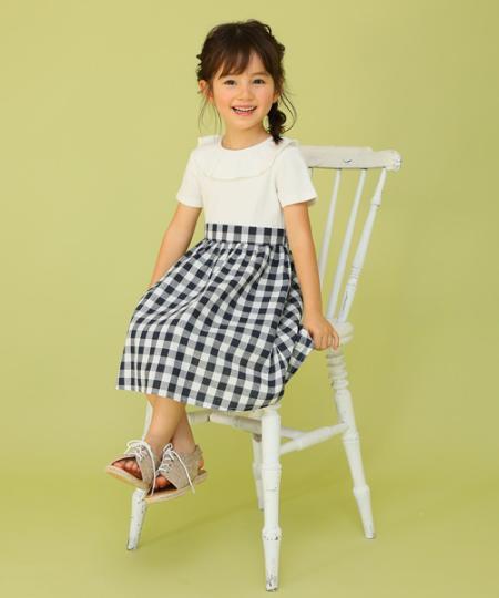 NARUMIYA ONLINEのランダムテレコドッキングワンピースを使ったコーディネートを紹介します。|Rakuten Fashion(楽天ファッション/旧楽天ブランドアベニュー)1009603