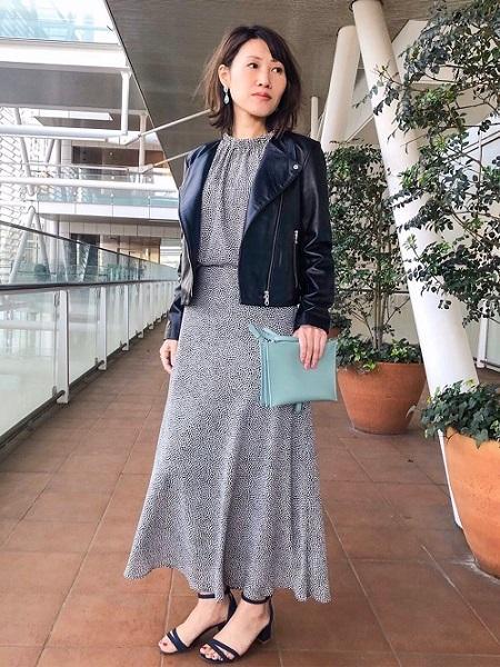 INED のギャザーネックドットプリントブラウスを使ったコーディネートを紹介します。|Rakuten Fashion(楽天ファッション/旧楽天ブランドアベニュー)1010382