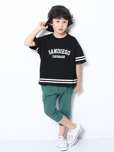 devirockの7分丈裾リブパンツ ハーフパンツ 半ズボンデビロック 子供服 キッズを使ったコーディネートを紹介します。|Rakuten Fashion(楽天ファッション/旧楽天ブランドアベニュー)1010495