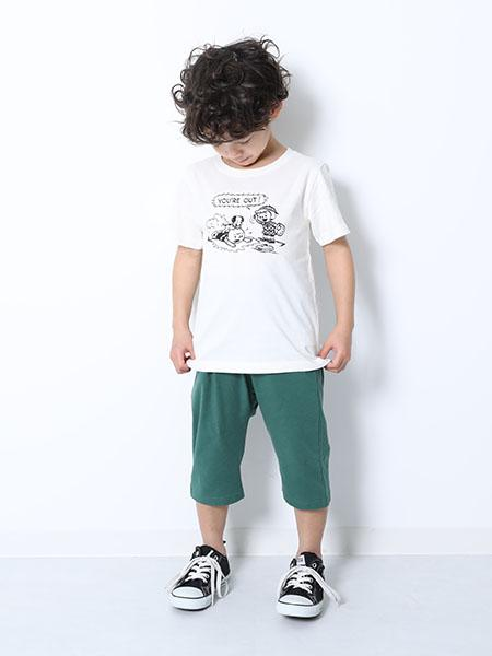 devirockの7分丈サルエルパンツを使ったコーディネートを紹介します。|Rakuten Fashion(楽天ファッション/旧楽天ブランドアベニュー)1010509