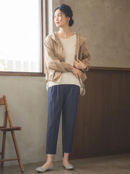 GLOBAL WORKの(W)ラクッションポインテッドを使ったコーディネートを紹介します。|Rakuten Fashion(楽天ファッション/旧楽天ブランドアベニュー)1011107