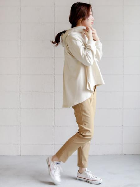 Bou Jeloudのハイテンションパンツを使ったコーディネートを紹介します。|Rakuten Fashion(楽天ファッション/旧楽天ブランドアベニュー)1011180