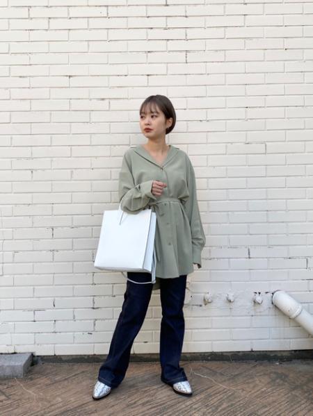 ROSE BUDのフロントジップマニッシュシューズを使ったコーディネートを紹介します。|Rakuten Fashion(楽天ファッション/旧楽天ブランドアベニュー)1011223