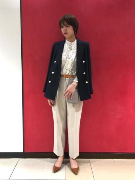 UNITED ARROWSのUWSCリネンブレザー†を使ったコーディネートを紹介します。|Rakuten Fashion(楽天ファッション/旧楽天ブランドアベニュー)1012451