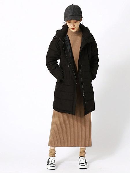 COMME CA ISMの《2way》フード付ダウンコートを使ったコーディネートを紹介します。|Rakuten Fashion(楽天ファッション/旧楽天ブランドアベニュー)1013163