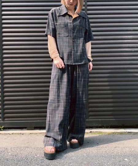 grapevine by k3のG.V.G.V./(W)SLUB RAYON AND COTTOを使ったコーディネートを紹介します。|Rakuten Fashion(楽天ファッション/旧楽天ブランドアベニュー)1013285