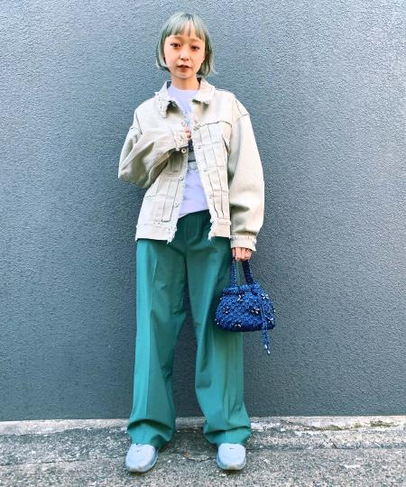 grapevine by k3のG.V.G.V./(W)FRINGED COTTON TWILLを使ったコーディネートを紹介します。|Rakuten Fashion(楽天ファッション/旧楽天ブランドアベニュー)1014703