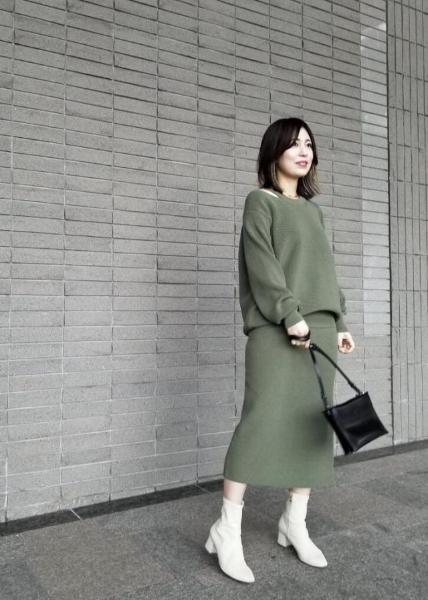 ROPE'の【セットアップ対応】片畔タイトスカートを使ったコーディネートを紹介します。|Rakuten Fashion(楽天ファッション/旧楽天ブランドアベニュー)1016140