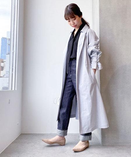 nano・universeのウォッシャブルタスランコートを使ったコーディネートを紹介します。|Rakuten Fashion(楽天ファッション/旧楽天ブランドアベニュー)1016230