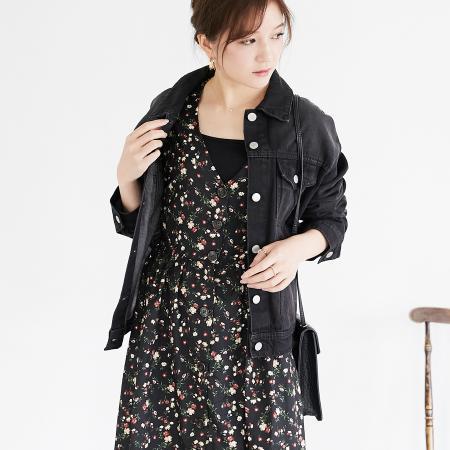TARFのTARF/(W)BIGデニムGジャンを使ったコーディネートを紹介します。|Rakuten Fashion(楽天ファッション/旧楽天ブランドアベニュー)1016441