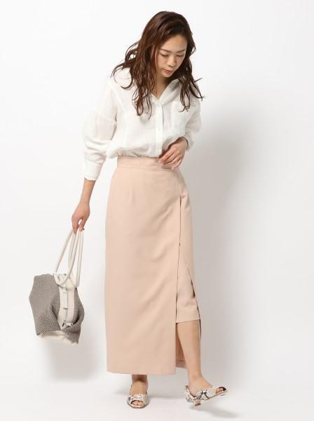 BABYLONEのレイヤードフウタイトSKを使ったコーディネートを紹介します。|Rakuten Fashion(楽天ファッション/旧楽天ブランドアベニュー)1017094