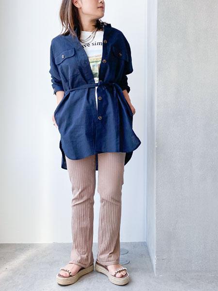 nano・universeのWEB限定/コットンリネンベルト付きCPOを使ったコーディネートを紹介します。 Rakuten Fashion(楽天ファッション/旧楽天ブランドアベニュー)1017180