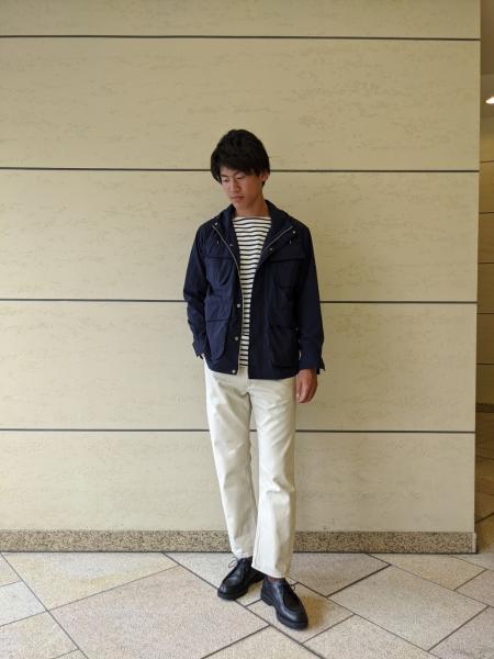 URBAN RESEARCH DOORSのFORK&SPOONボートネックボーダーを使ったコーディネートを紹介します。|Rakuten Fashion(楽天ファッション/旧楽天ブランドアベニュー)1017550