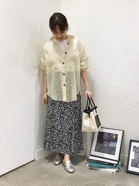 Droitelautreamontの【雑誌掲載】≪洗濯機で洗える≫ソフトオーガンジーブラウスを使ったコーディネートを紹介します。|Rakuten Fashion(楽天ファッション/旧楽天ブランドアベニュー)1017744