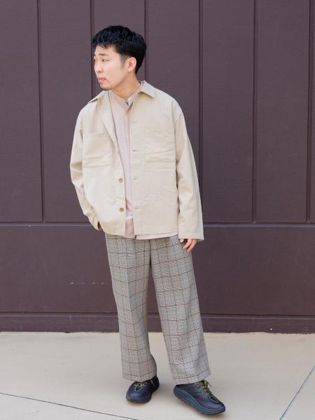 417 EDIFICEのドライタッチトロ カバーオールを使ったコーディネートを紹介します。|Rakuten Fashion(楽天ファッション/旧楽天ブランドアベニュー)1018724