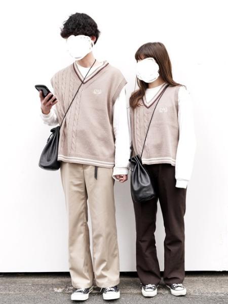 DEVICEのRename/(U)Rename 本革 巾着バッグ サコッシュを使ったコーディネートを紹介します。 Rakuten Fashion(楽天ファッション/旧楽天ブランドアベニュー)1018741