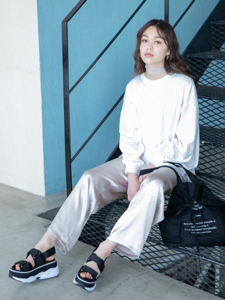 HeatherのECO*ムジロンTを使ったコーディネートを紹介します。|Rakuten Fashion(楽天ファッション/旧楽天ブランドアベニュー)1018866