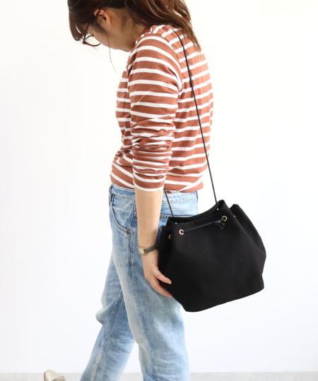 TrysilのT・S・L/巾着バッグを使ったコーディネートを紹介します。|Rakuten Fashion(楽天ファッション/旧楽天ブランドアベニュー)1019403