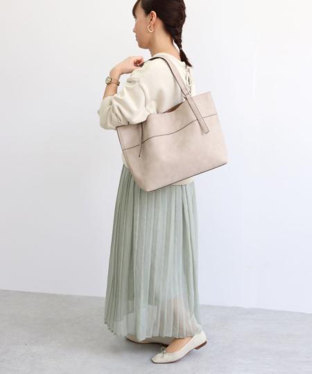 TrysilのT・S・L/A4トートバッグを使ったコーディネートを紹介します。|Rakuten Fashion(楽天ファッション/旧楽天ブランドアベニュー)1019549