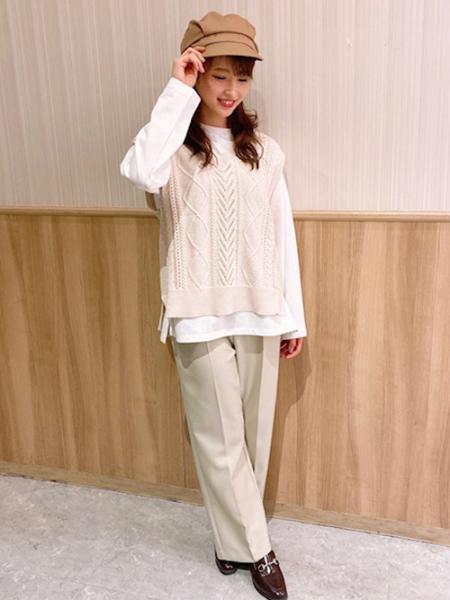 INGNIのコーディネートを紹介します。|Rakuten Fashion(楽天ファッション/旧楽天ブランドアベニュー)1020853