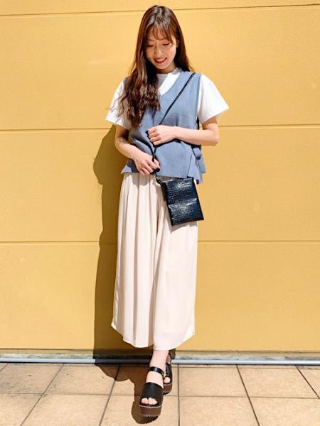 INGNIのJZイージースカンツを使ったコーディネートを紹介します。|Rakuten Fashion(楽天ファッション/旧楽天ブランドアベニュー)1021555