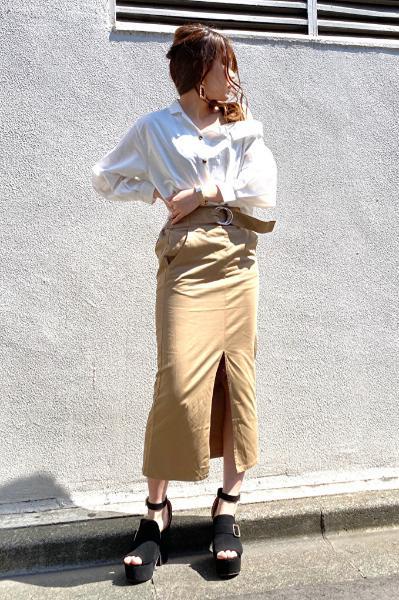 CECIL McBEEのワンショルシャツを使ったコーディネートを紹介します。|Rakuten Fashion(楽天ファッション/旧楽天ブランドアベニュー)1021850