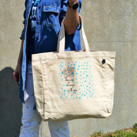 TOKOHANAのBIGプリントトートバッグを使ったコーディネートを紹介します。|Rakuten Fashion(楽天ファッション/旧楽天ブランドアベニュー)1021918