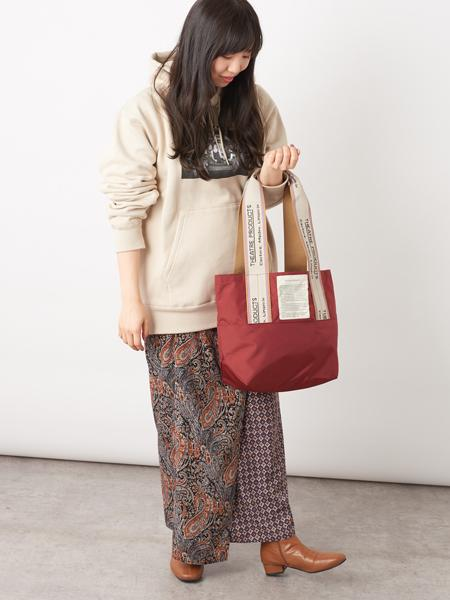 Daily russetの≪Dailyrusset別注≫ジャガードテープバッグ/Newカラーを使ったコーディネートを紹介します。|Rakuten Fashion(楽天ファッション/旧楽天ブランドアベニュー)1022119