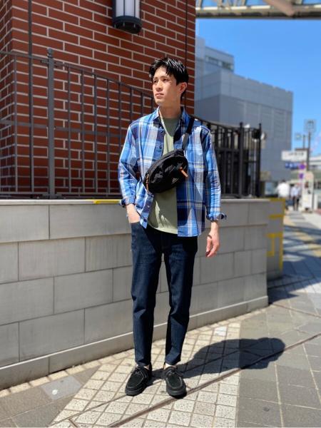 417 EDIFICEのUSACOTTON クルーネック TEEを使ったコーディネートを紹介します。|Rakuten Fashion(楽天ファッション/旧楽天ブランドアベニュー)1022219