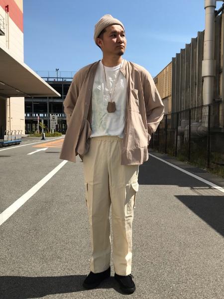 417 EDIFICEのタイダイ 40/-デラベポンチ Teeを使ったコーディネートを紹介します。|Rakuten Fashion(楽天ファッション/旧楽天ブランドアベニュー)1022263
