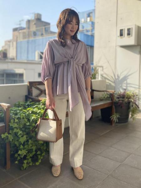 ADAM ET ROPE'のメッシュフラットシューズを使ったコーディネートを紹介します。 Rakuten Fashion(楽天ファッション/旧楽天ブランドアベニュー)1022517