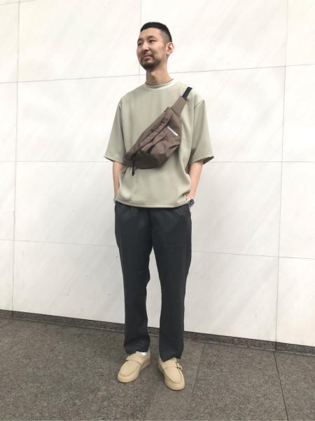417 EDIFICEのシルキーダブルクロス C/N TEEを使ったコーディネートを紹介します。|Rakuten Fashion(楽天ファッション/旧楽天ブランドアベニュー)1022901