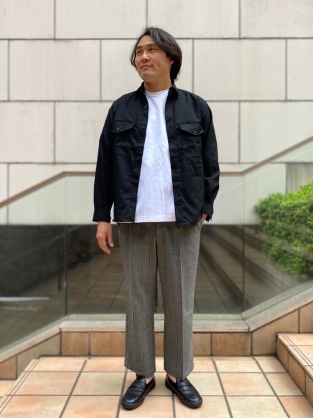 417 EDIFICEのCARREMAN / キャリーマンCPOシャツを使ったコーディネートを紹介します。|Rakuten Fashion(楽天ファッション/旧楽天ブランドアベニュー)1022894
