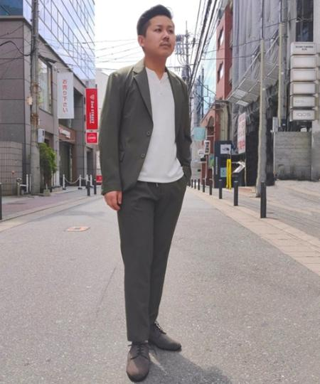 ABAHOUSEの【極柔レザー】カウンターレスプレーントゥシューズを使ったコーディネートを紹介します。|Rakuten Fashion(楽天ファッション/旧楽天ブランドアベニュー)1023894