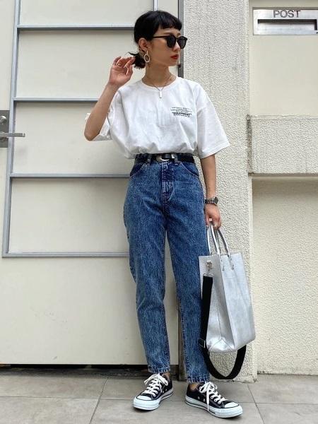 PAGEBOYのクラシックトートBAGを使ったコーディネートを紹介します。 Rakuten Fashion(楽天ファッション/旧楽天ブランドアベニュー)1024748