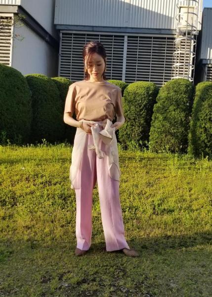 ROPE'のソフトオーガンジーエアリーシアーシャツブラウスを使ったコーディネートを紹介します。|Rakuten Fashion(楽天ファッション/旧楽天ブランドアベニュー)1025626