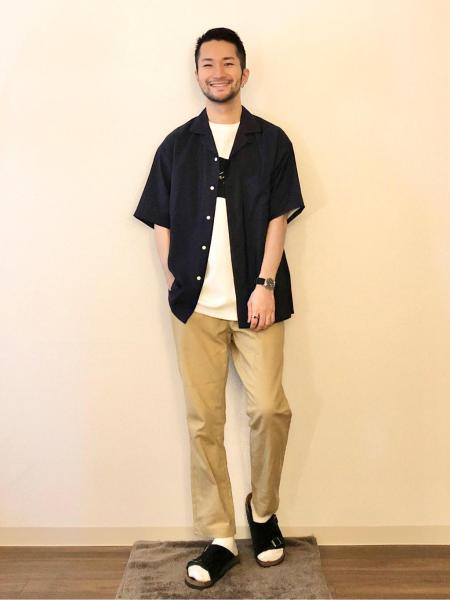 RAGEBLUEの(M)NバンブーOPカラーSSを使ったコーディネートを紹介します。|Rakuten Fashion(楽天ファッション/旧楽天ブランドアベニュー)1025987