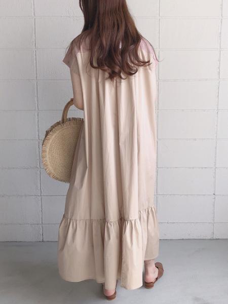 Bou Jeloudのシャンティアードロングワンピースを使ったコーディネートを紹介します。|Rakuten Fashion(楽天ファッション/旧楽天ブランドアベニュー)1026481