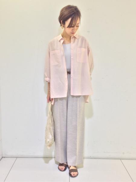 HUMAN WOMANの◆オニベジブラウスを使ったコーディネートを紹介します。|Rakuten Fashion(楽天ファッション/旧楽天ブランドアベニュー)1026585