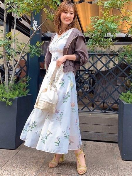 Noelaの異素材コンビ巾着BAGを使ったコーディネートを紹介します。 Rakuten Fashion(楽天ファッション/旧楽天ブランドアベニュー)1026721