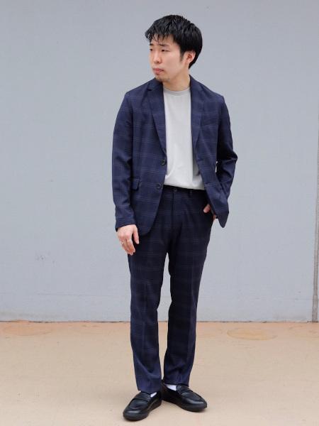 417 EDIFICEのサマートロチェックスペシャルセットアップを使ったコーディネートを紹介します。|Rakuten Fashion(楽天ファッション/旧楽天ブランドアベニュー)1026799