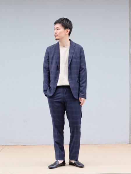 417 EDIFICEのサマートロチェックスペシャルセットアップを使ったコーディネートを紹介します。|Rakuten Fashion(楽天ファッション/旧楽天ブランドアベニュー)1027168