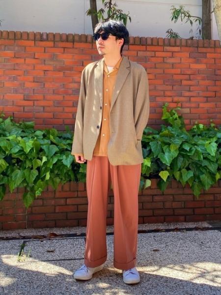 MAISON SPECIALのコンパクト2WAYストレッチダブルワイドスラックスを使ったコーディネートを紹介します。|Rakuten Fashion(楽天ファッション/旧楽天ブランドアベニュー)1027349