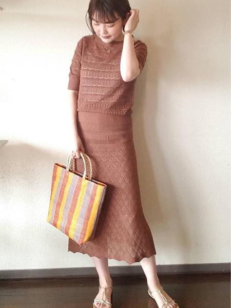 ROPE' PICNICのメッシュスピンドルフラットサンダルを使ったコーディネートを紹介します。|Rakuten Fashion(楽天ファッション/旧楽天ブランドアベニュー)1027730
