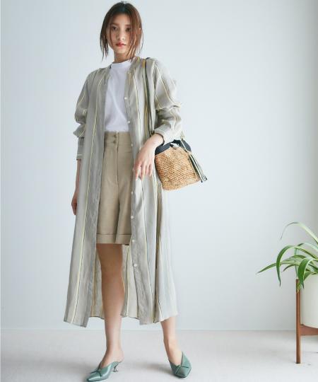 BABYLONEのLINEN SH OPを使ったコーディネートを紹介します。|Rakuten Fashion(楽天ファッション/旧楽天ブランドアベニュー)1027753