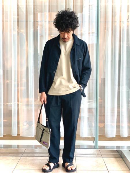 URBAN RESEARCH DOORSの高機能リネンカバーオールジャケットを使ったコーディネートを紹介します。|Rakuten Fashion(楽天ファッション/旧楽天ブランドアベニュー)1027946