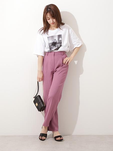 N. Natural Beauty Basic*のマリリンモンローTシャツを使ったコーディネートを紹介します。|Rakuten Fashion(楽天ファッション/旧楽天ブランドアベニュー)1028210